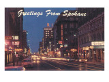Greetings from Spokane, Washington Prints