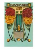 Art Nouveau November, Sagittarius Posters