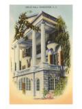 Ashley Hall, Charleston, South Carolina Print