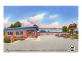 Merkle's Motel, Port Angeles, Washington Prints