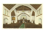 Interior, St. Paul's Church, Charleston, West Virginia Posters