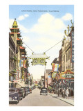 Chinatown, San Francisco, California Poster