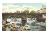 Pawtuxet Bridge, Pawtuxet, Rhode Island Poster