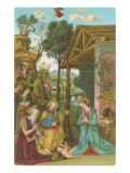 Nativity Scene by Pinturicchio, Rome Art