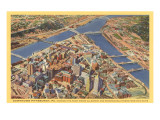 Downtown Pittsburgh, Pennsylvania Prints