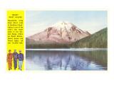 Mt. St. Helens, Servicemen, Washington Posters