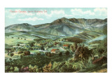 Mission Canyon, Santa Barbara, California Prints