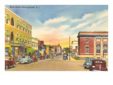 Main Street, Narragantt, Rhode Island Prints