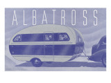 Albatross Travel Trailer Poster