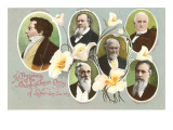 Six Presidents of the Mormons Posters