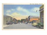 Main Street, Shawano, Wisconsin Print