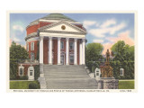 University Rotunda, Charlottesville, Virginia Posters