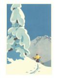 Skier, Graphics Prints