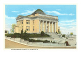 Jones Memorial Library, Lynchburg, Virginia Prints
