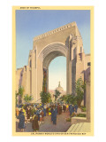 Arch of Triumph, World's Fair, San Francisco, California Print