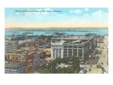 Overview of Downtown San Diego, California Print