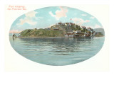 Fort Alcatraz, San Francisco, California Prints