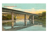 High Bridges, Janesville, Wisconsin Print