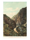 The Narrows, Ogden Canyon, Utah Posters