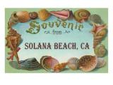 Souvenir from Solana Beach, California Prints