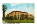 Public Library, Santa Barbara, California Print