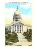State Capitol, Madison, Wisconsin Prints