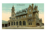 Fort Wayne Station, Pittsburgh, Pennsylvania Posters