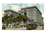 US Grant Hotel, San Diego, California Prints