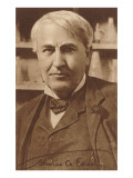 Photograph of Thomas Edison Prints