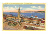Ferry Building, San Francisco, California Posters