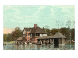 Boat House, Roger Williams Park, Providence, Rhode Island Prints