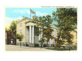 White House of the Confederacy, Richmond, Virginia Prints