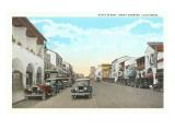 State Street, Santa Barbara, California Posters