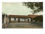 Old Adobe House, Santa Barbara, California Posters