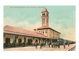 Railroad Depot, Spokane, Washington Posters