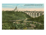 Cabrillo Bridge and Balboa Park, San Diego, California Posters