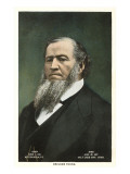 Portrait of Brigham Young Prints