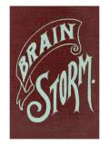 Brain Storm Print