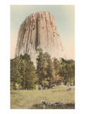 Devils Tower, Wyoming Poster