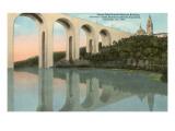 Cabrillo Bridge, Balboa Park, San Diego, California Posters