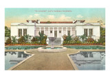 El Pureides, Santa Barbara, California Prints