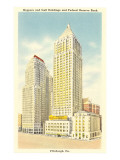 Koppers and Gulf Buildings, Pittsburgh, Pennsylvania Prints