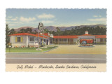 Golf Motel, Montecito, Santa Barbara, California Prints