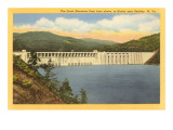 Great Bluestone Dam, Beckley, West Virginia Art