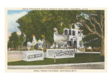 Statues of Chickens, Carlsbad, California Posters