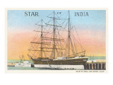 Star of India, San Diego, California Posters