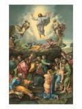 Ascension of Jesus into Heaven Plakaty