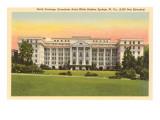 Hôtel Greenbrier, White Sulphur Springs, Virginie Occ. Affiches