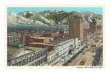 Main Street,  Salt Lake City, Utah Kunstdrucke