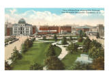 City Hall and Park, Providence, Rhode Island Prints